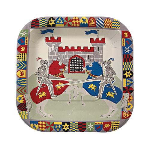"""Маленькие тарелки """"Храбрые рыцари"""" 109063"""
