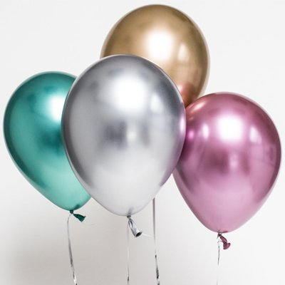"""Латексные шары """"Хром""""  Q11"""" 1101-0490"""
