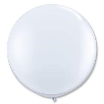 Большие белые шары, 2шт 1102-0976