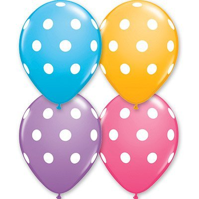 "Шелк 11"" Polka Dots Assorted 1103-0710"