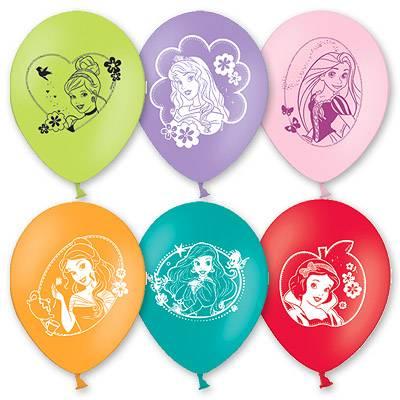 """Шар с рисунком 12"""" Disney Принцессы 1103-0790"""
