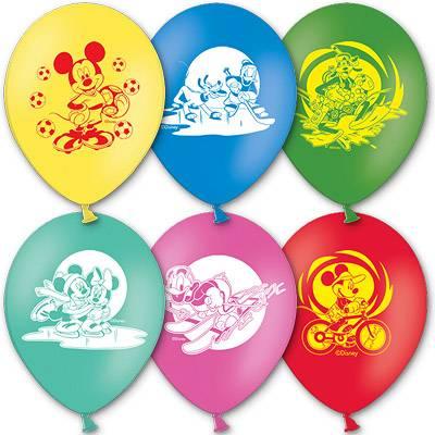 "Шар с рисунком 12"" Disney Микки Маус 1103-0810"