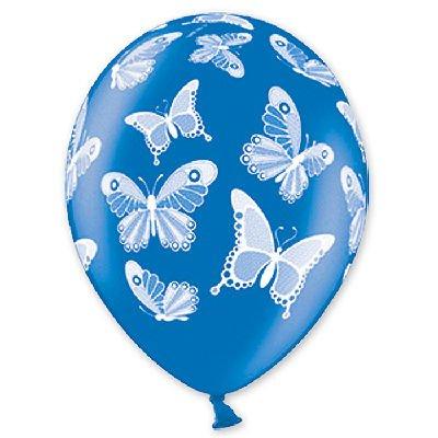 """Шелкография металлик 14"""" Бабочки, 50 шт. 1103-0832"""