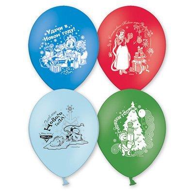 """Шар с рисунком 14"""" Disney С Новым Годом 1103-0875"""