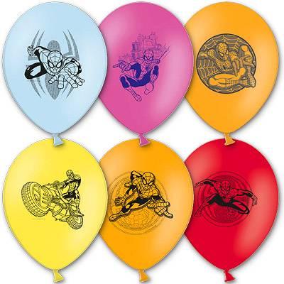 Шарики с рисунком Marvel Человек Паук 1103-0992