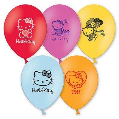 """Шары с рисунком 12"""" Hello Kitty, 30 см 1103-1066"""