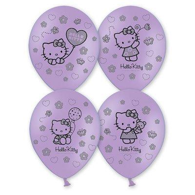 "Шары шелк пастель 14"" Hello Kitty 1103-1091"