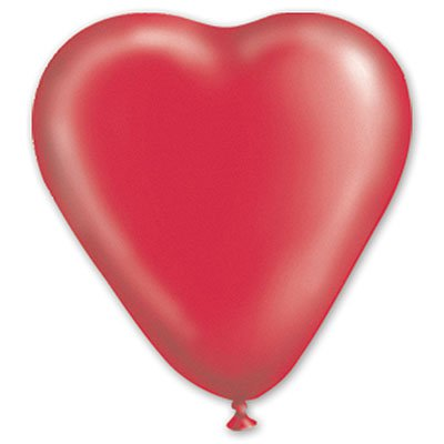 "сердце 10"" кристалл Красное 1105-0014"