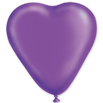 "сердце 10"" кристалл Фиолетовое 1105-0028"