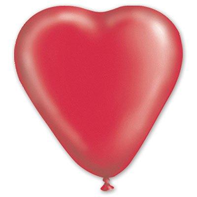 Сердце Кристалл Красное, 40 см 1105-0146