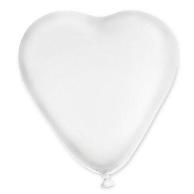 """Сердце 16"""" Кристалл Прозрачное 1105-0162"""