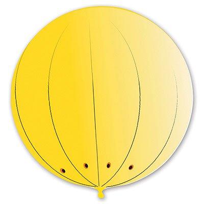 Гигант сфера 2,9 м желтый/G 1109-0307