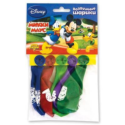 Шарики с рисунком Disney Микки Маус 30см 1111-0282