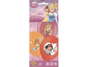 Набор шаров многоцветных Принцессы, 3 шт 1111-0461