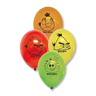 Набор шаров с рисунком Angry Birds, 5 шт 1111-0470