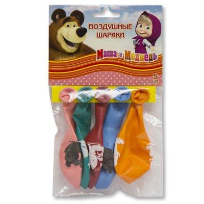 Набор шаров Маша и Медведь, 5 штук 1111-0637