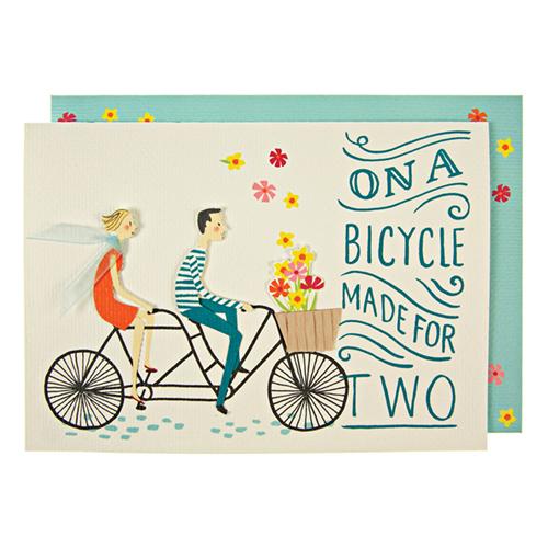 """Открытка """"Велосипед"""""""