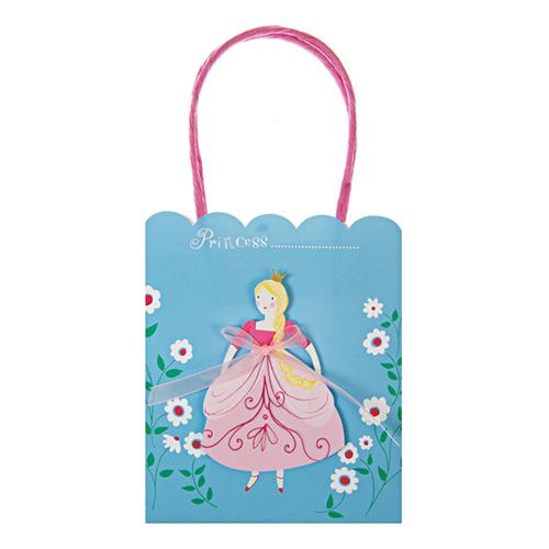 """Пакеты для подарков гостям """"Принцессы"""" 113464"""