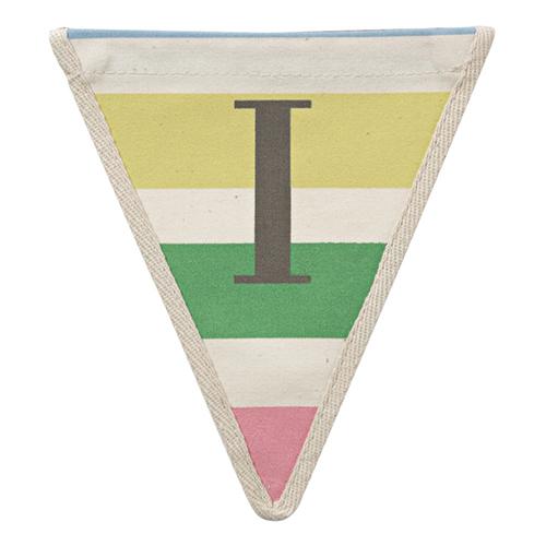 Флажок в разноцветную полоску I 117424