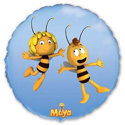 """Шар 18"""" Пчелка Майя в полете 1202-1487"""