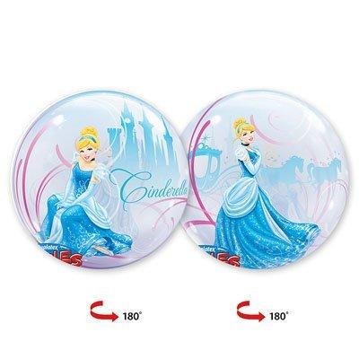 """Шар BUBBLE 22"""" Disney Золушка дебют 1202-1584"""