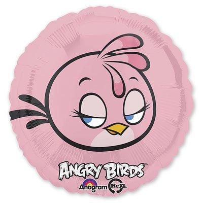 Шар фольгированный Розовая Птица, 45 см 1202-1646