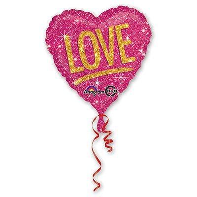 "Шар 18"" Love Искры 1202-1683"