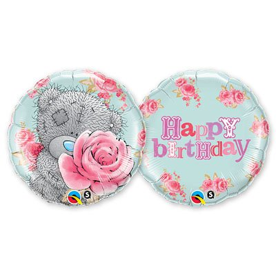 "Шар П 18"" Me To You HB Розы розовые 1202-1861"