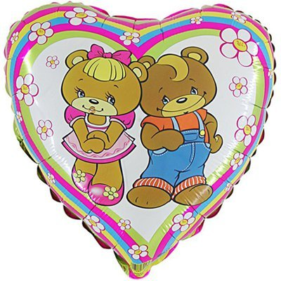 "Г 18"" Медвежата в цветочках 1202-2012"