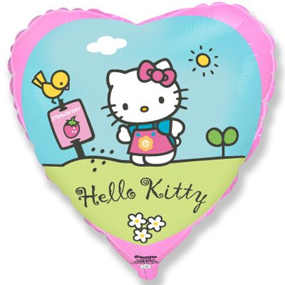 "Шар 18"" Hello Kitty в саду 1202-2037"