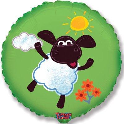"""Шар Ф 18"""" Веселая овечка 1202-2051"""