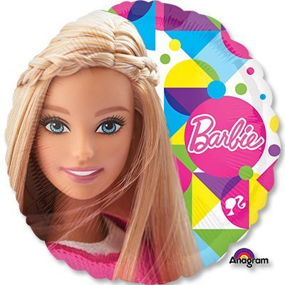 """Шар 18"""" Барби 1202-2257"""