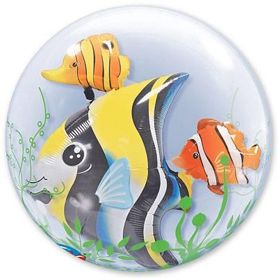 Фольгированные шары Рыбы тропические 1203-0300