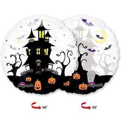 Шар панорамный Дом с привидениями, 66 см 1203-0366