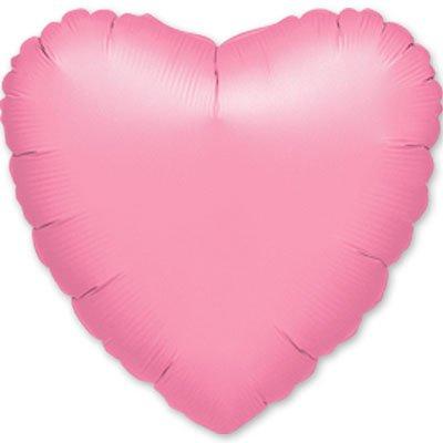 """Шарик 18"""" сердце металлик Lavender 1204-0029"""