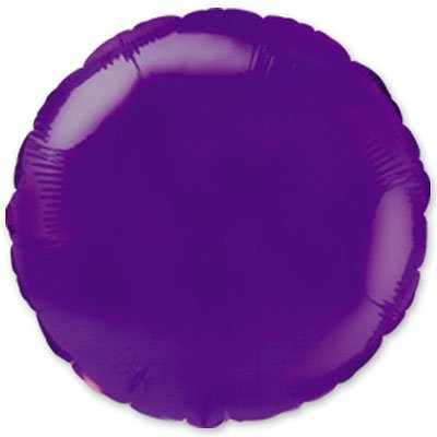 "Шарик 9"" круг металлик Violet 1204-0169"