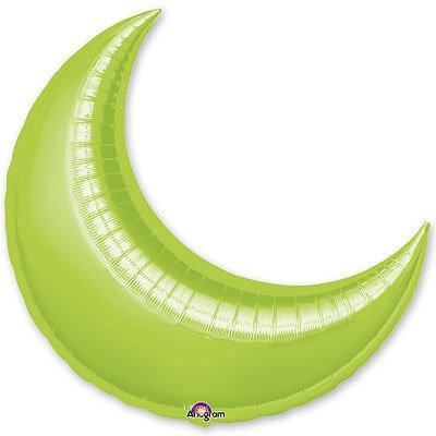 """Шарик 26"""" месяц металлик Lime 1204-0357"""
