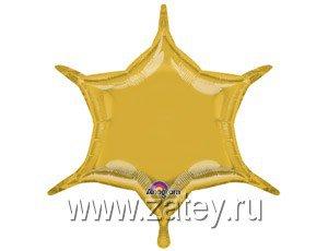 """А Б/РИС ШЕСТИКОНЕЧНИК 22"""" Металлик Gold 1204-0440"""