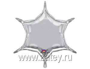 "А Б/РИС ШЕСТИКОНЕЧНИК 22"" Металл Silver 1204-0441"