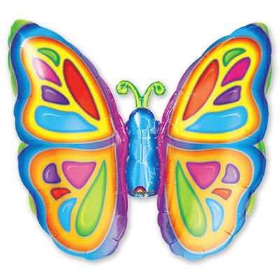 Мини Фигура Бабочка яркая 1206-0026