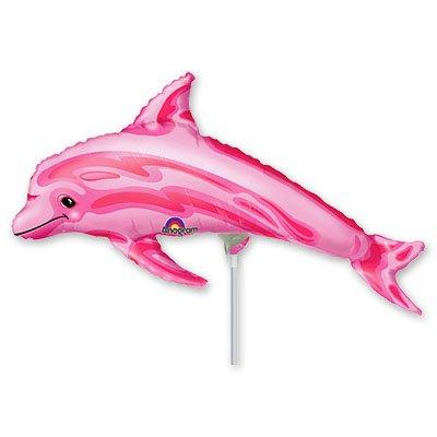 Мини Фигура Дельфин розовый 1206-0036