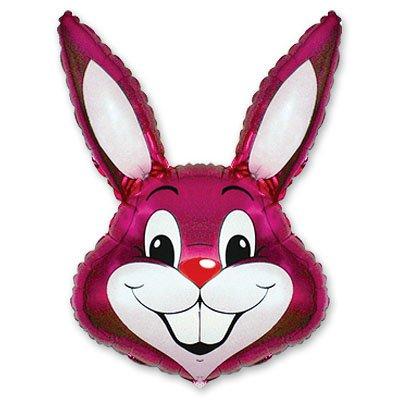 Мини Фигура Кролик малиновый 1206-0087