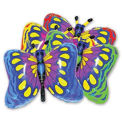 Мини Фигура Бабочка малиновая 1206-0097
