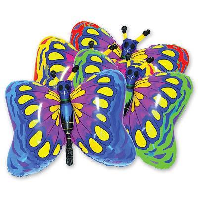 Мини Фигура Бабочка синяя 1206-0098
