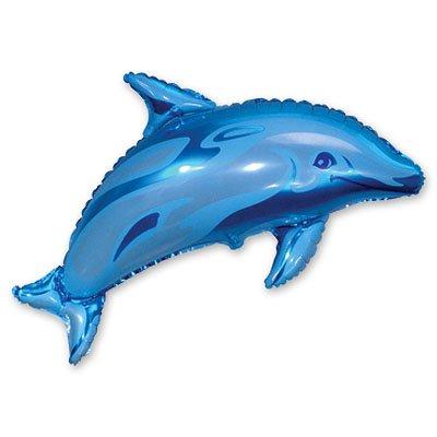 Мини Фигура Дельфин голубой 1206-0109