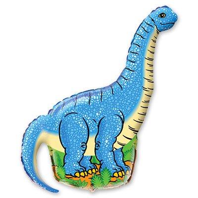 Мини Фигура Динозавр голубой 1206-0112