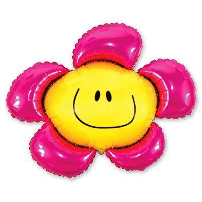 Мини Фигура Цветок розовый 1206-0150
