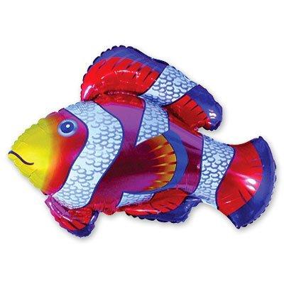 Мини Фигура Рыба пестрая красная 1206-0220