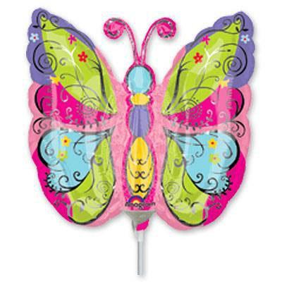 Мини Фигура Бабочка садовая 1206-0340