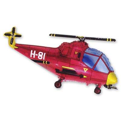 Мини Фигура Вертолет красный 1206-0351